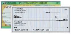 Money Order or Check Payment